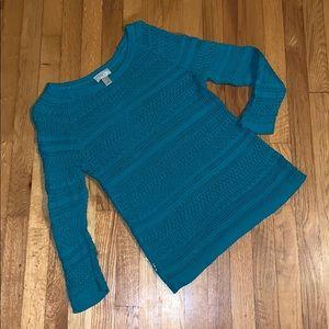 LOFT sweater blue szM